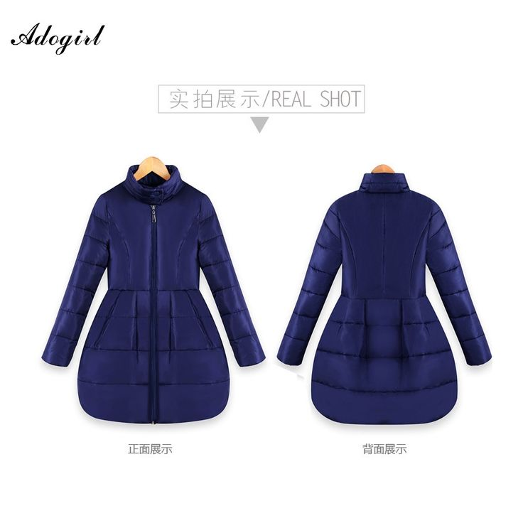 39.86$  Buy now - http://aliqx8.shopchina.info/go.php?t=32762707660 - Adogirl Winter Down Jacket Women Long Coat Parkas Jackets Female Warm Clothes High Quality Purple Overcoat Plus size Down Coats  #magazineonlinewebsite