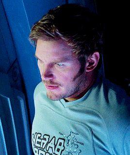 Chris Pratt Guardians of the galaxy.