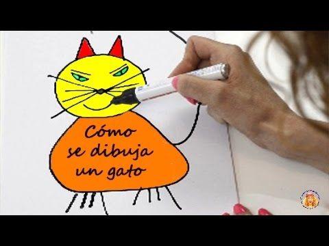 """""""Cómo se dibuja un gato"""", de Gloria Fuertes (Madrid, 1917-1998). Poemas infantiles. Los poemas ayudan a los niños y niñas en su proceso de aprendizaje, les e..."""