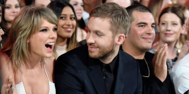 Calvin Harris Shared the Sexiest Photo of Taylor Swift From Their ~Tropical Vacation~