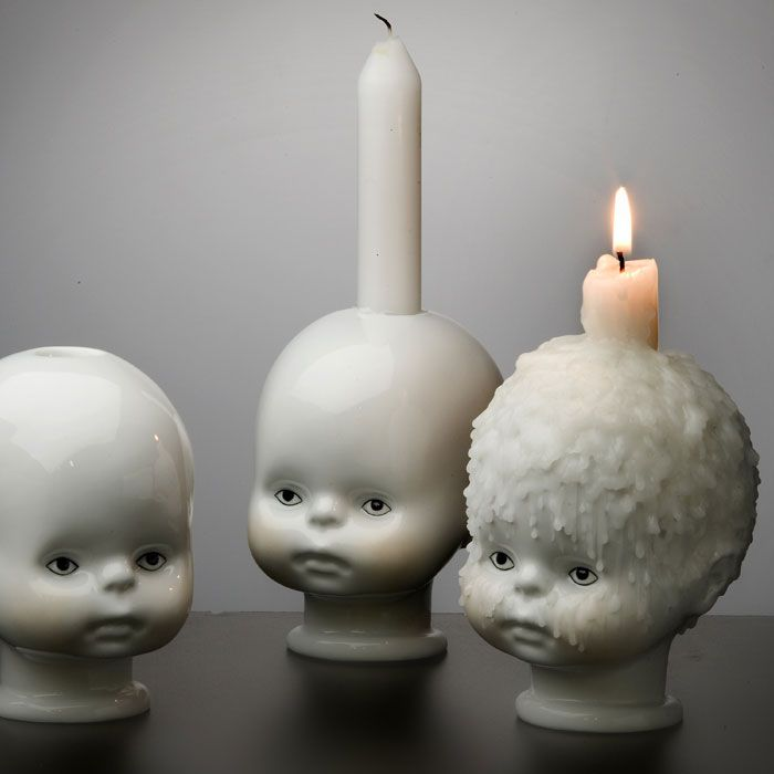 Qubus - Little Joseph Candle Holder (qty x1)