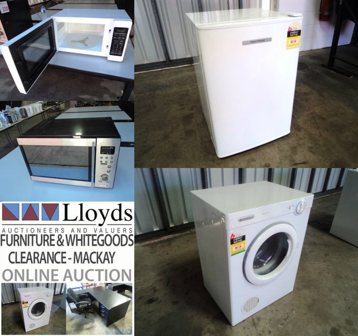 Get your bargain Whitegoods here!