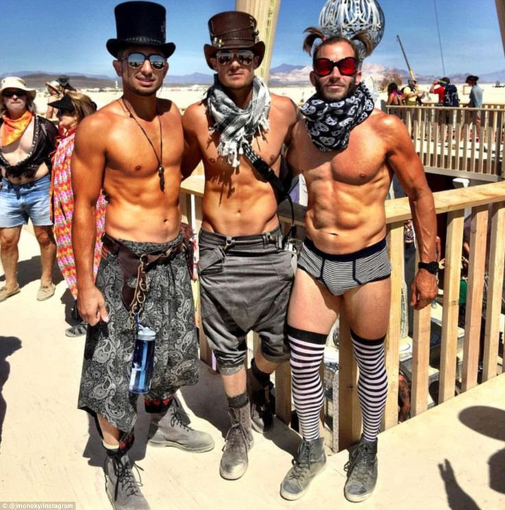 Burning Man is an annual music and arts festival that takes place at the end of August in the Nevada desert, where attendees - called burners - dress up in elaborate outfits to party for a week before burning the temporary city to the ground