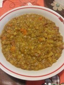 pasta e lenticchie bimby