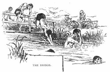 """En el siglo XIX, en Inglaterra se practicaba la """"carrera de natación con obstáculos"""", que exigía sortear puentes, botes y barriles."""