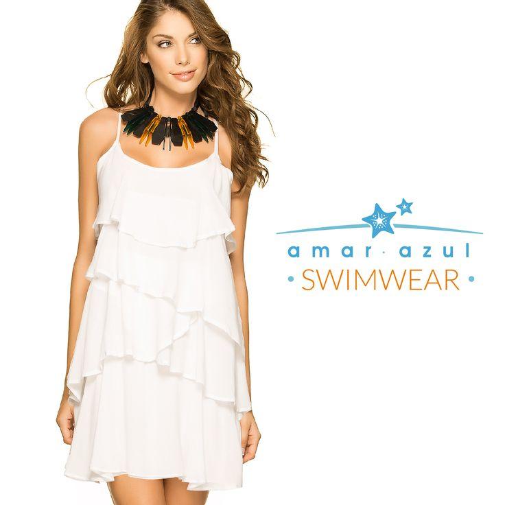 ¿Qué te parece este vestido para visitar la #Playa?   #Cáftan #amarazulswimwear #beachwear