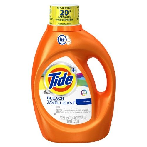 Tide Plus Bleach Alternative He Turbo Clean Liquid Laundry