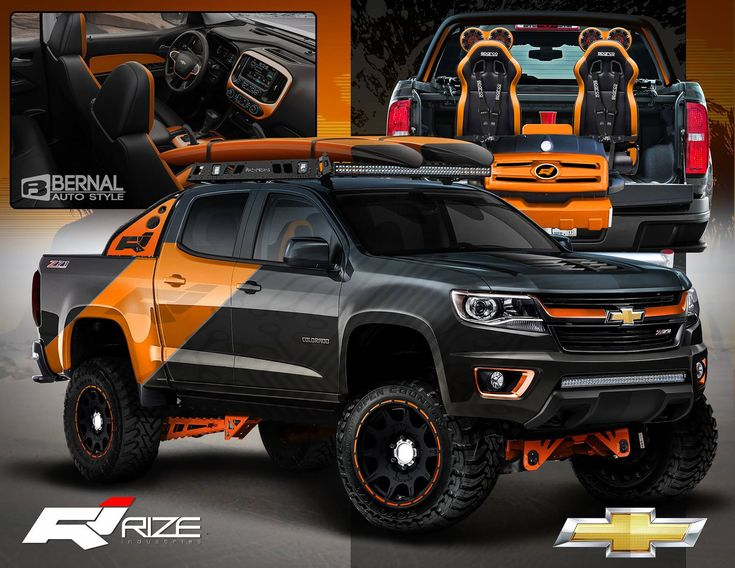 Rize Industries  2015 Chevy Colorado SEMA Proposal, Matt Bernal on ArtStation at https://www.artstation.com/artwork/rize-industries-2015-chevy-colorado-sema-proposal