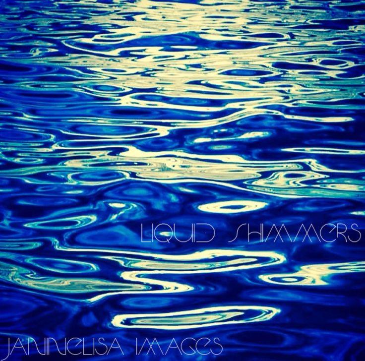 Liquid Simmers Unique Art by Janinelisa