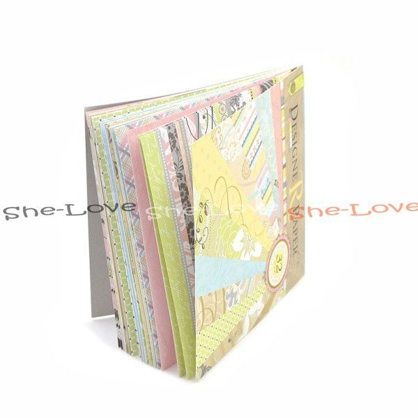 1 Set Mixed 32pcs 16 Designs Craft Paper Collection 8 Inch Diy Photo Album For Scrapbook-in Craft Paper from Home & Garden on Aliexpress.com | Alibaba Group