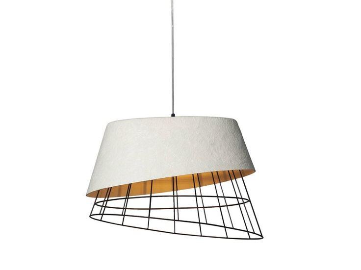 Fiberglass pendant lamp MONO by Karman design Giovanna Colapristi, Prof.Sotirios Papadopoulos