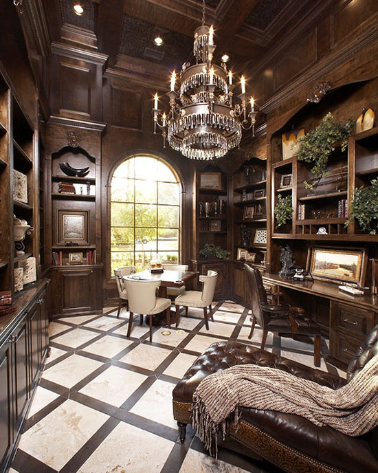 114 best Library & Office images on Pinterest | Homes, Beautiful ...