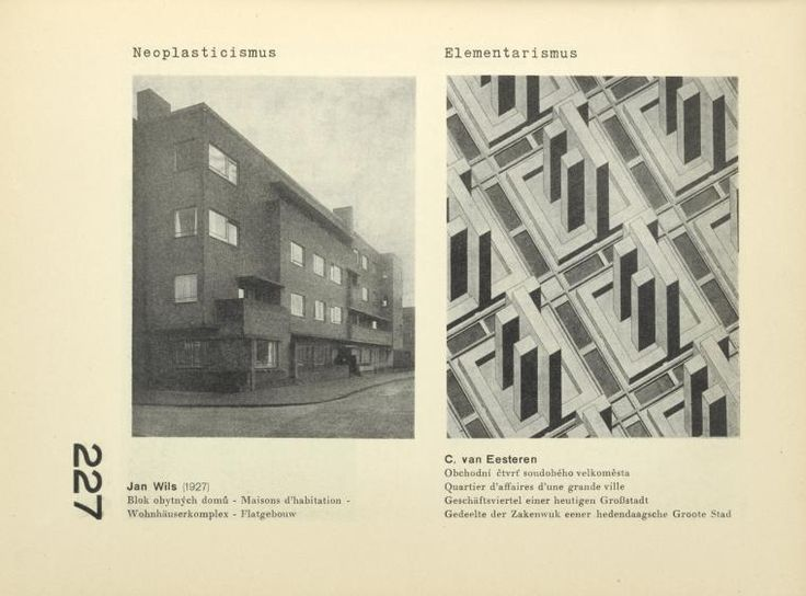 Marvelous Theo van Doesburg and Cornelis van Eesteren in Czech avant garde magazine ReD