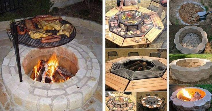 27 Best Fire Pit Design Ideas Images On Pinterest