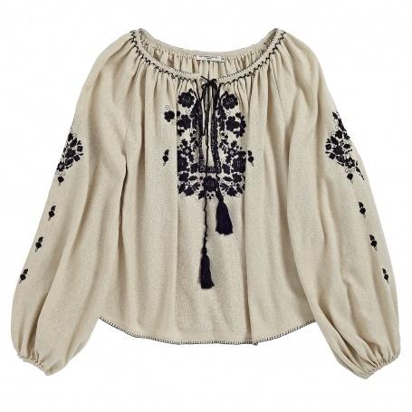 blouse brodée MES DEMOISELLES