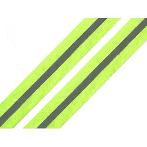 Reflexní páska žlutá 30mm