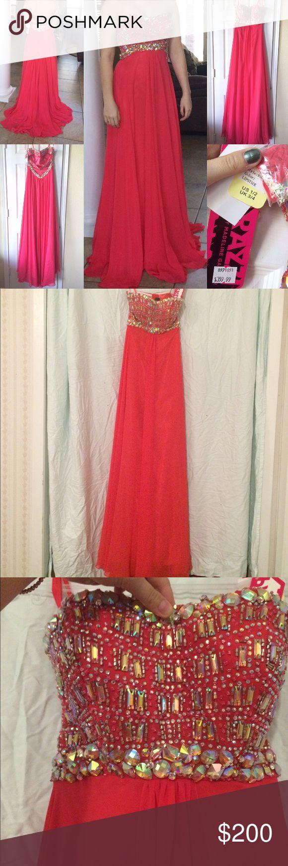 Prom dress maroon 3 1 2