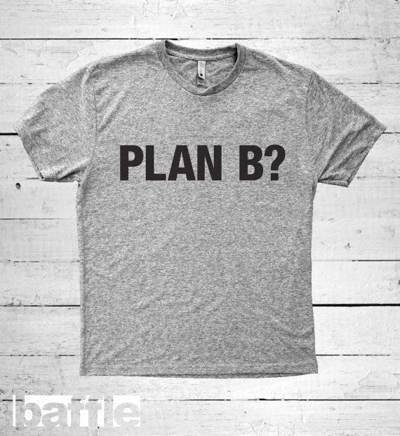 Baffle Tees / Plan B Men's Tri-Blend T-Shirt by BaffleTeesShop
