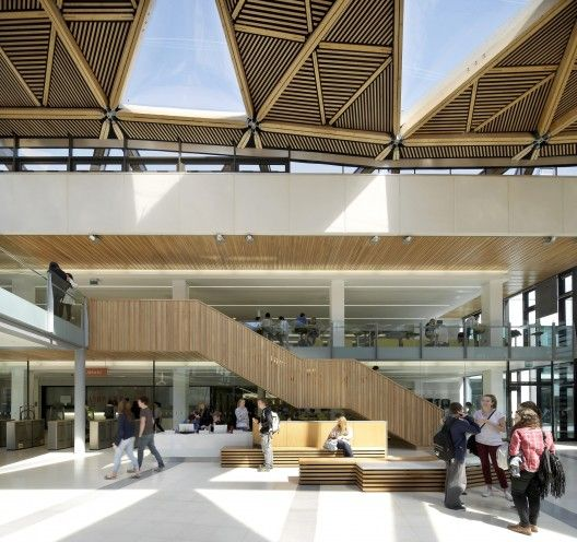 The Forum, University of Exeter skylight