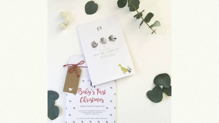 Baby's First Christmas Hand & Footprint Kit