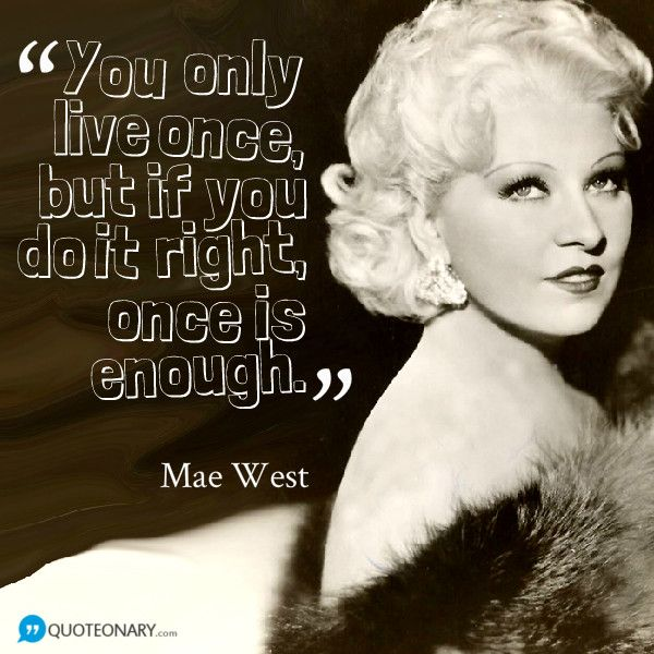 mae west quote - photo #23
