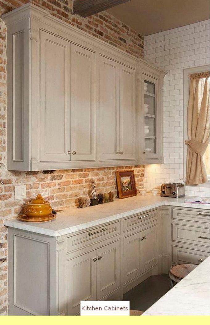 93 Kitchen Cabinet Decorative Accents Hickory Models 56 Kitchen Design Color Brick Wall Kitchen White Brick Wall Kitchen
