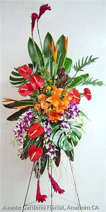 58 Best Tropical Memorial Flowers Images On Pinterest