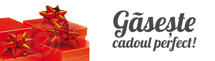 Gaseste cadoul perfect!