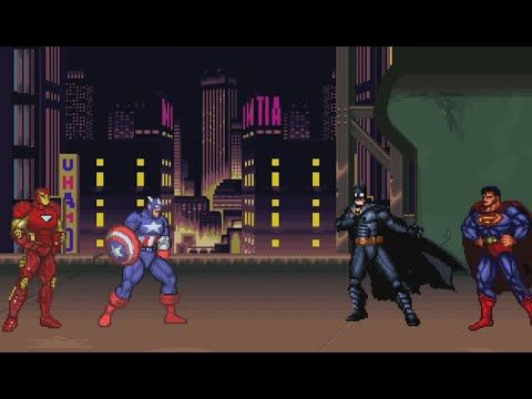 February 25, 2015: Batman/Superman Square Off Against Iron Man/Captain America http://www.supermanhomepage.com/news.php?readmore=16135