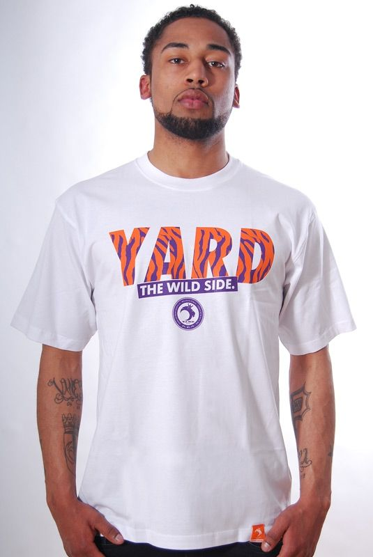 WILD SIDE, T-Shirt, White