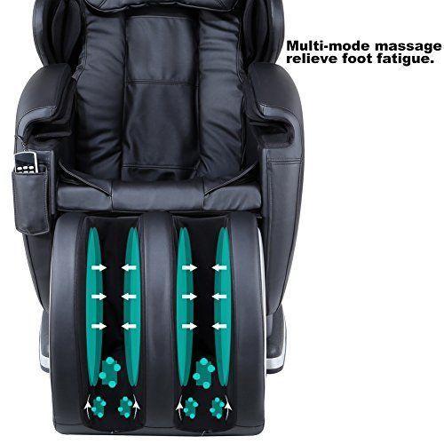 Real Relax Full Body Zero Gravity Shiatsu Massage Chair Review - Feel Pain Relief #massagechairszerogravity