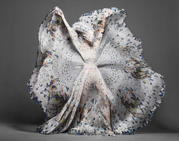 alexander mcqueen & damien hirst | scarf collection