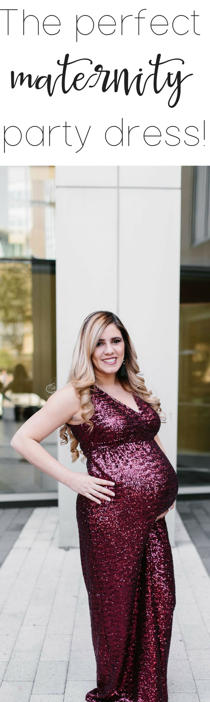 The PERFECT maternity party dress! – The Ashmores Blog