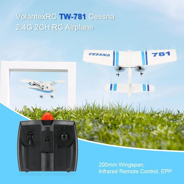 15 best RM6825 Volantex RC RC Airplane Mini EPP Infrared Remote ...