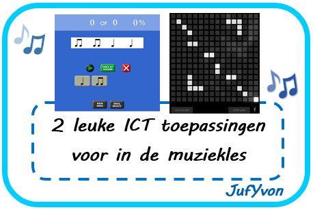 ©JufYvon: 2 leuke ICT toepassingen voor in de muziekles