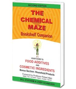 The Chemical Maze Bookshelf Companion The Chemical Maze Bookshelf Companion is designed as a home reference guide to the chemicals in processed foods as food additives and the ingredients in personal care and cosmetic products. The Bookshelf Companion also includes a bonus section on household products from air fresheners to window cleaners, highlighting the toxic chemicals used in …