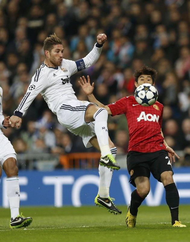 Sergio Ramos - 20130213 - UEFA Champions League - Real Madrid vs. Manchester United