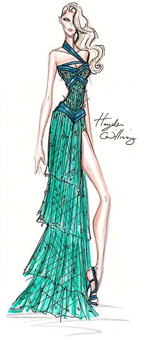 Preview: Hayden Williams Haute Couture Fall/Winter 2011.12 collection.