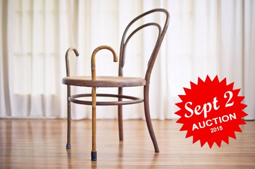 Histories of Bentwood come together to rebuild this classic chair, bringing a sense of personal history and offering a helping hand.