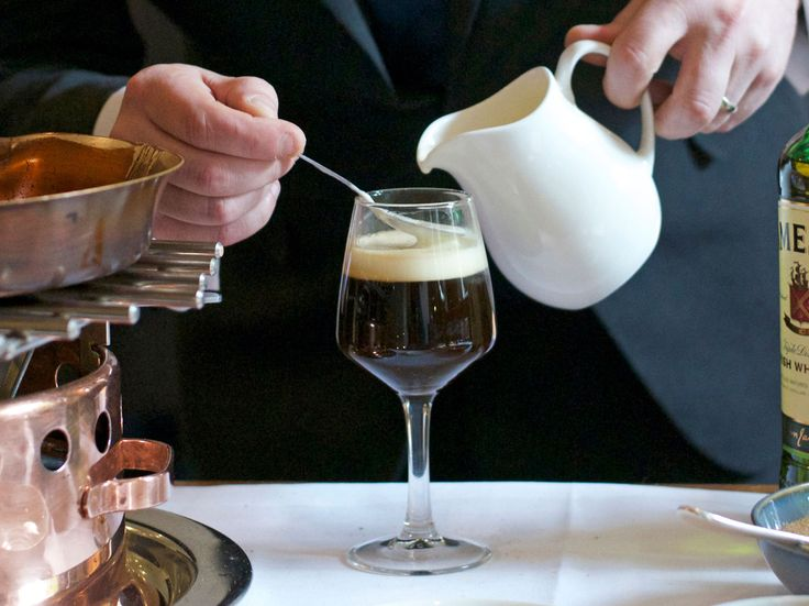Dublin's Michelin-starred Chapter One restaurant shares its recipe for decadent, authentic Irish coffee. (Don't forget the Jameson.)