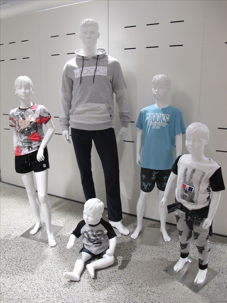 mannequin hire project for Designworks in Richmond