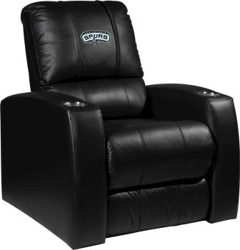 San Antonio Spurs NBA Home Theater Leather Recliner