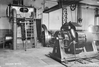VII.419.:34.1.1.2.6.01.02. Dampfmaschine und Gleichstromgenerator (1936)