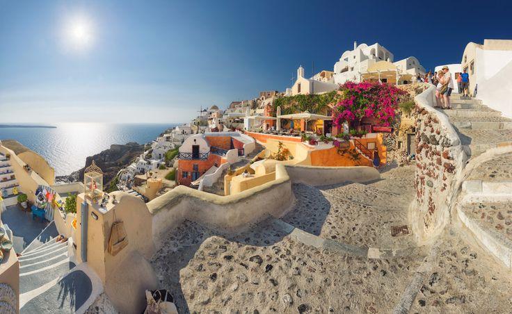 Santorini, Greece by Max Vysota