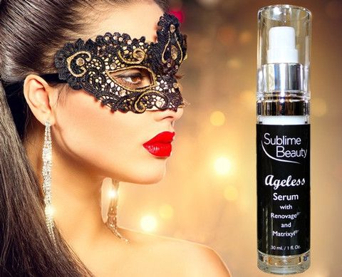 FABULOUS SERUM FOR GORGEOUS SKIN! Ageless Serum with Renovage and Matrixyl from Sublime Beauty, also on Amazon