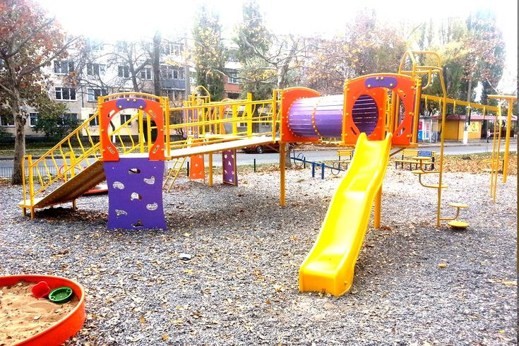 Большой детский игровой комплекс Еlephant. ул. Паустовского 12, 12Б, Одесса.