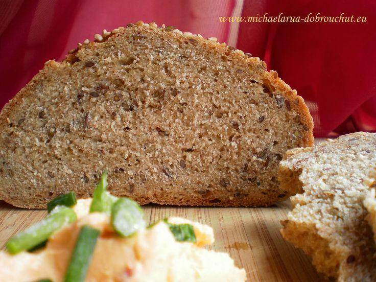 Dobrou chuť: Lněný chlebík s česnekem