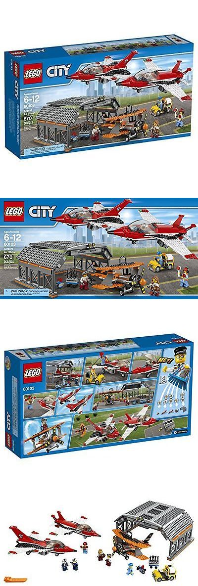 Bricks and Building Pieces 183448: Lego City Airport 60103 Airport Air Show Building Kit (670 Piece) New -> BUY IT NOW ONLY: $84.29 on eBay!