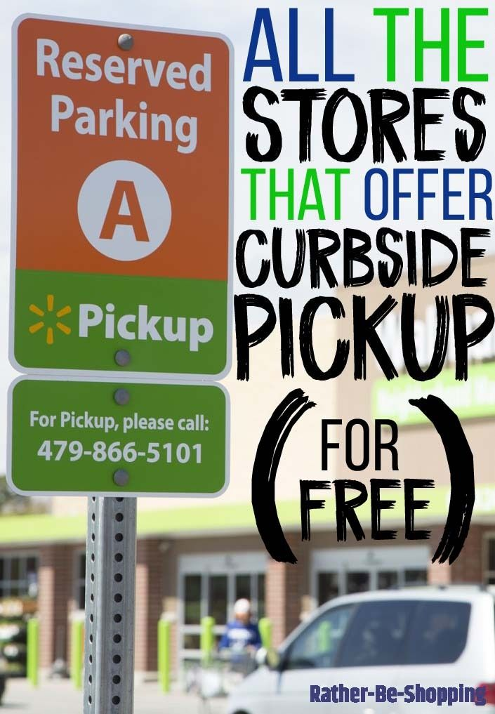 All 9 Major Stores That Offer Free Curbside Pickup A Couple Will