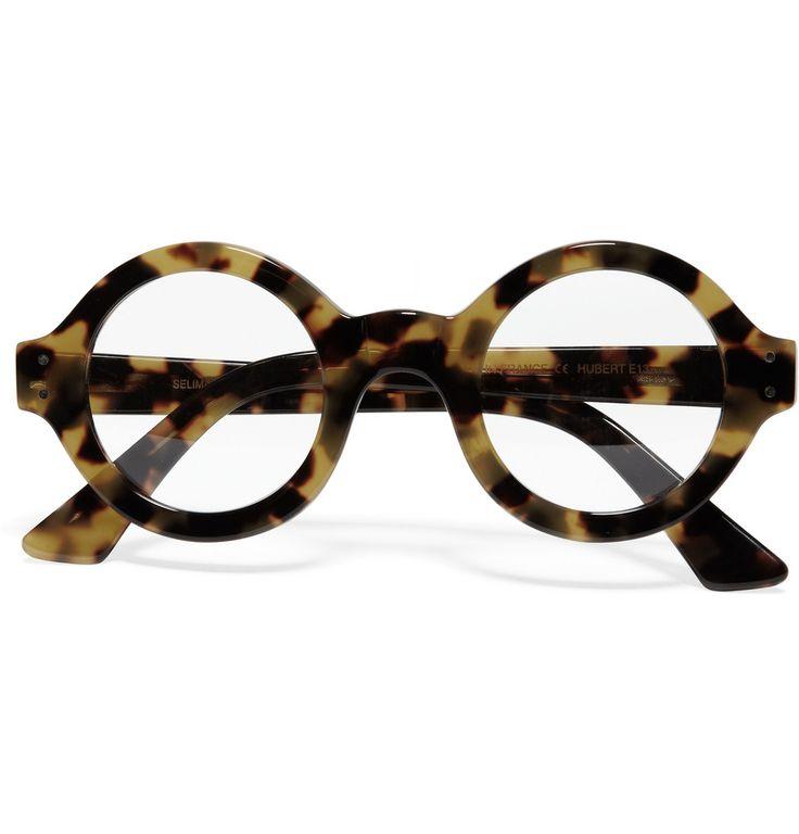 Selima OptiqueRound-Framed Tortoiseshell Optical Glasses MR PORTER